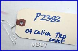 00-05 Toyota Celica Interior Radio/shifter/cluster Bezel Trim Carbon Fiber P2383