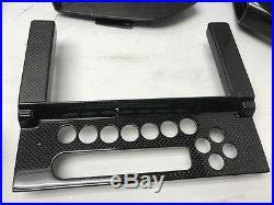 07 Lamborghini Murcielago Lp640 Oem Interior Carbon Fiber Console Dash Trims