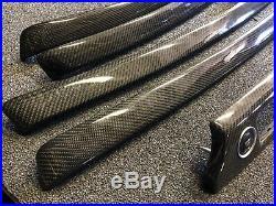 08-13 BMW E92 E93 M3 Carbon Fiber Gloss Finish Interior Trim Kit 7pc Set