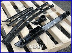 08-13 BMW E92 E93 M3 Carbon Fiber Leather Interior Trim Kit 6pc Set