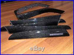 08-16 Audi A4 S4 Rs4 Interior Carbon Fiber Trim Set Door Console Oem