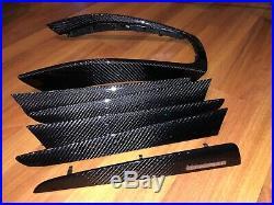 08-16 Audi Q5 Sq5 Interior Carbon Fiber Trim Set Door Console Oem