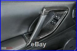 09-15 Fits Nissan GTR Seibon Carbon Fiber Interior Door Trim Set CFI0910NSGTR-C