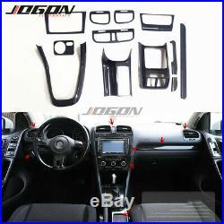 12pcs For Volkswagen VW Golf 6 VI MK6 GTI R20 2010-2013 Car interior Cover Trim
