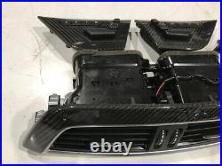 15 MERCEDES BENZ AMG C63 W204 OEM 507 INTERIOR CARBON FIBER TRIM 12-15 2dr COUPE