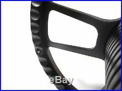 1969 1985 Nova Carbon Fiber Steering Wheel Black Billet Chevy SS Horn Kit