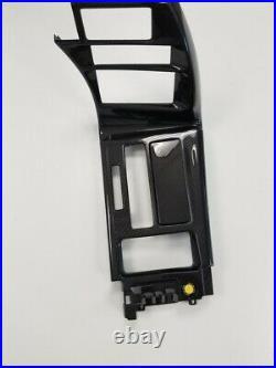 1991-1996 C4 Corvette Interior Radio Bezel & Shifter Console Carbon Fiber