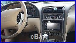 2001 2002 2003 04 Ford Mustang 3.6l 4.6l Gt Interior Carbon Fiber Dash Trim Kit