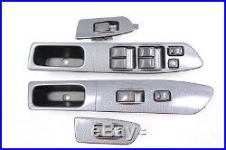 2002-2004 Subaru Impreza Wrx & Sti Spt Carbon Fiber Interior Trim Set Oem (rare)
