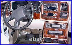 2003 2004 05 06 Chevrolet Chevy Suburban Ls Lt Interior Burl Wood Dash Trim Kit