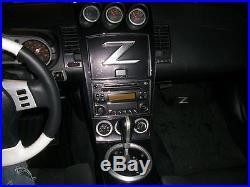 2003 2004 2005 Interior Carbon Fiber Dash Trim Kit Set For Nissan 350z 350 Z Z33