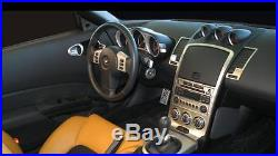 2003 2004 2005 Interior Silver Aluminum Dash Trim Kit For Nissan 350z 350-z Z33
