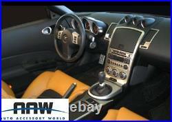 2006 07 08 Interior Silver Aluminum Dash Trim Kit Set For Nissan 350 Z 350z Z33