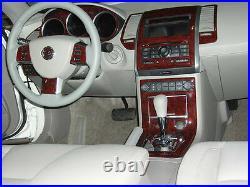 2007 07 2008 Interior Burl Wood Dash Trim Kit Set For Nissan Maxima 3.5l Se Sl