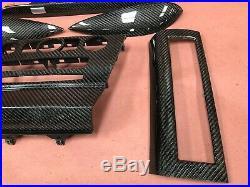 2008 Carbon Fiber Interior Dash Door Panel Trim BMW M6 650I OEM 66K Low Miles