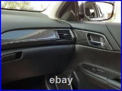 2013 2014 2015 2016 2017 Honda Accord Interior Real Carbon Fiber Dash Trim Kit