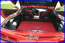 2014 Chevrolet Corvette Adrenaline Red Interior 20k Miles 520HP Z06 Wheels