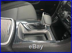 2015 2016 2017 2018 2019 2020 Dodge Charger Interior Carbon Fiber Dash Trim Kit