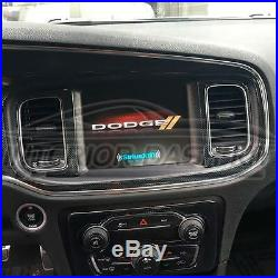 2015 2016 2017 2018 2019 Dodge Charger Interior Carbon Fiber Dash Trim Kit Set