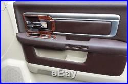 2016 2017 2018 Dodge Ram 1500 2500 3500 Sle Slt Interior Wood Dash Trim Kit Set