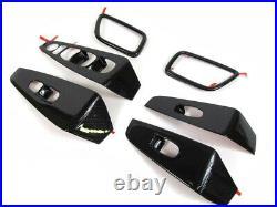 2016 Nissan Maxima Carbon Fiber Look Interior Appliques Trim Kit Genuine OEM NEW