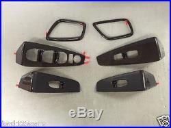2016 Nissan Maxima Carbon Fiber Look Interior Appliques Trim Kit T99G3-4RA1A