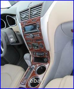 2017 2018 2019 Interior Burl Wood Dash Trim Kit Set For Kia Sportage LX Ex Sx