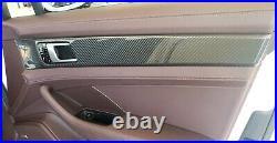 2017-2020 PORSCHE PANAMERA 971 TURBO FULL CARBON FIBER Dash Interior Trim SET