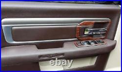2019 2020 2021 2022 Dodge Ram 1500 2500 3500 Interior Wood Dash Trim Kit Set