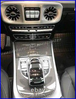 2019 2020 Mercedes W464 G550 G63 Carbon Fiber Dash Interior Dash Trim Panel Set
