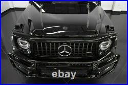 2019 Mercedes-Benz G-Class G63 AMG DESIGNO EXCLUSIVE INTERIOR BLACKOUT PKG