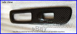 3D Carbon Fiber Interior Dashboard Trim Dash Panels for RHD BMW 3 Long E-93 2007