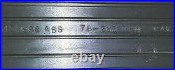 73-87 Chevy Truck C10 C20 C30 Black & Chrome Scottsdale Dash Trim OEM GMC Pickup
