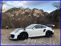 911 GT2RS Style Carbon Fiber Front Bumper&Lips Fits Porsche 991.1&991.2 Carrera