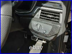 AUDI A4 MK5 (B9) 2015 On RS 4 QUATTRO Interior Carbon Fibre Dash Trims 11717179