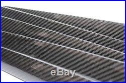 AUDI B8 S4 A4 Carbon Fiber Interior Dash Door Trim Kit LHD 09 10 11 12 13 14 15+