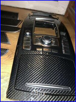 AUDI RS6 S6 A6 4F C6 Carbon Fiber Interior Trim piece RHD