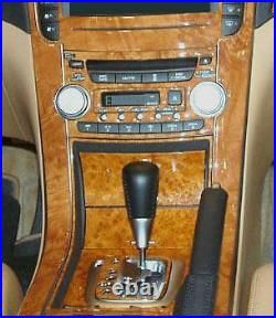 Acura Tl Type-s Type S Interior Wood Dash Trim Kit Set 2004 2005 2006 2007 2008