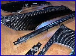 Audi A7 S7 Rs7 4g0 Interior Carbon Fiber Trim Set Door Console Oem