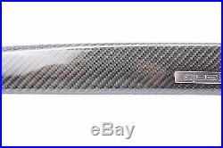 Audi Carbon Fiber Center Dash Interior Trim08 09 10 11 12 13 14 A4 S4 B8 Quattro