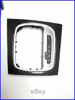 Audi RS3 S3 8P Sportback Genuine Carbon Fibre Interior Trim Door Gear Surround