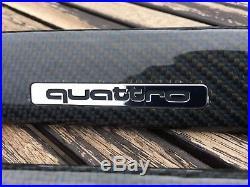 Audi s4 b5 Carbon Fibre Interior Trims Blue Weave