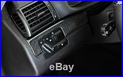 AutoCarbon Carbon Fiber Overlay Interior Kit For BMW E46 3Series Coupe 1999-2006