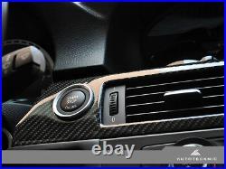 AutoTecknic BM-0362-09-03 Carbon Fiber Interior Trim Fits 09-13 BMW M3 M-DCT