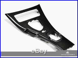AutoTecknic Carbon Fiber Interior Center Console E90 E92 M3 09 13 M DCT