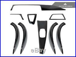 AutoTecknic Dry Carbon Fiber Interior Trim- BMW F30 3-series 328i 335i 330i 340i