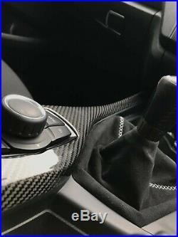 BMW 1 Series Carbon Fibre Interior I control Cover Dash F20 M135i m140i