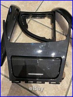 BMW 1 Series E81 E82 E88 Ashtray Interior Trim Set Carbon Fibre Effect