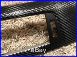 BMW 3/4 F series F30/31 F34GT F32 Black Carbon Fiber wrapped interior trim set
