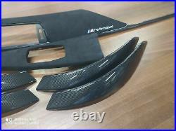 BMW 3 4 Series F30 F31 F36 M performance Interior Trim ALKANTARA CARBON FIBER LH